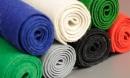 Farebná dekoračná plsť - tkaná plsť