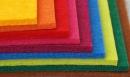 100% polyester, hrúbka 1, 2, 3 a 5 mm