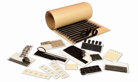 Plstené komponenty pre elektronický priemysel