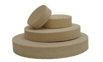 Plstené kotúče - stredne tvrdé (0,56 g/cm3)