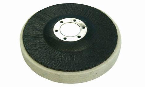 Plstené kotúče na sklotextilnom tanieri - stredná hustota 0,44 g/cm3